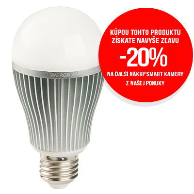 ANTIK SmartHome Inteligentná LED žiarovka