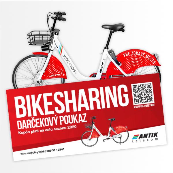 Bicyklovanie na celú sezónu – ANTIK Bikesharing