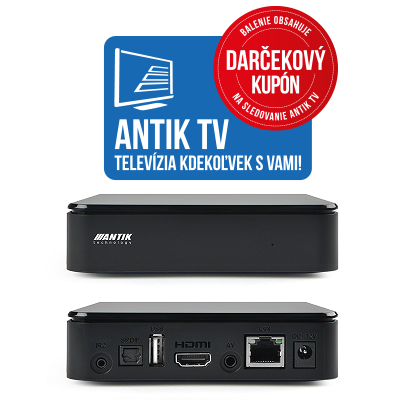 Antik Nano 3 +Antik TV 6 mesiacov ZADARMO