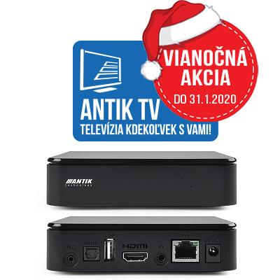 Antik Nano 3 +Antik TV 12 mesiacov ZADARMO